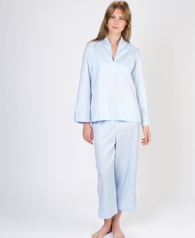 stribet pyjamas dame