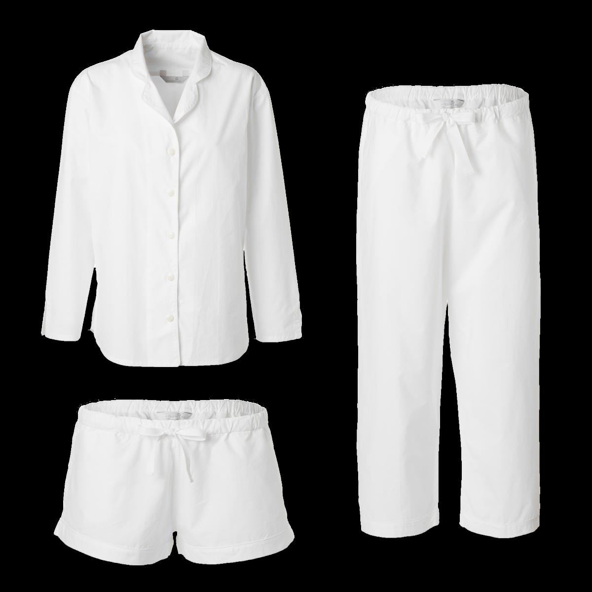 445220d8 Fiona pyjamas hvid