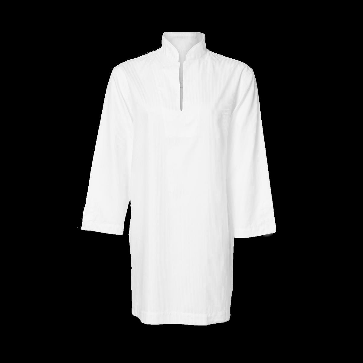 Dame natskjorte, hvid